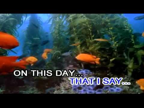 David Pomeranz - On This Day (Karaoke / Instrumental) (Videoke)