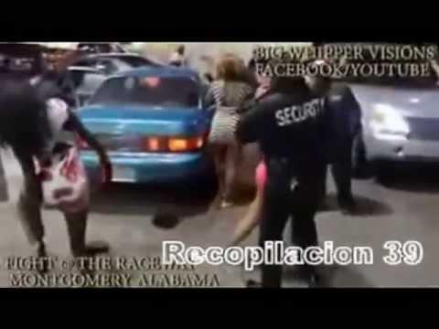 Mujeres Borrachas Pelean sin Ropa en la Calle 18