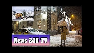 Britain plunges back into sub-zero temperatures with up to 4in of snow | News 24H TV