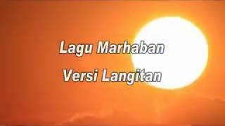 Lagu Marhaban Versi Langitan