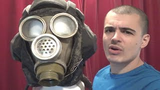 Requested Video: Foam Heads and Gas Masks