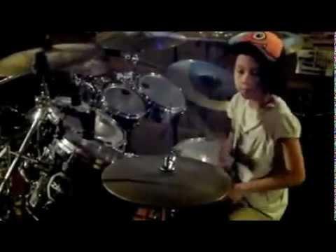 Xxx Mp4 8 Y O Girl Drummer Kalonica EC Jammin W Dad Hip Metal 3gp Sex
