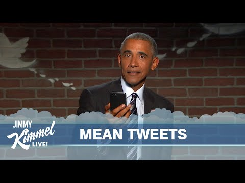 Mean Tweets President Obama Edition 2