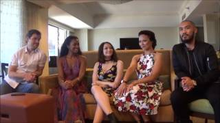 Interview with DARK MATTER Cast at SDCC 2016