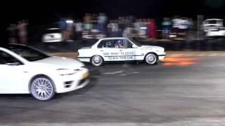 Carzilla 325 Turbo BMW vs VW Golf 7 R (BMW won)