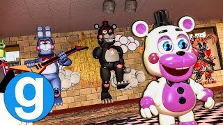 BRAND NEW FNAF 6 PILL PACK PIZZERIA SET UP! Five Nights at Freddy's Garry's Mod For Kids