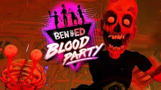 Ben and Ed Blood Party Gameplay German - Zombie Vs. Spikeball