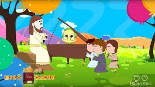 Jesus In The Morning I Bible Rhymes Collection I Bible Songs For Children with Lyrics