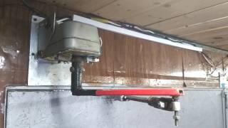 Как сделать электропривод для распашных ворот своими руками