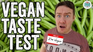 VEGAN TASTE TEST