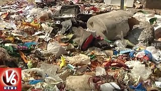 People Facing Problems With Garbage In Nizamabad Corporation | V6 News