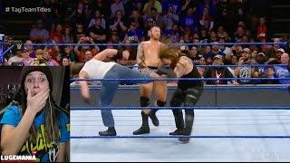 WWE Smackdown 1/10/17 Wyatt Orton vs American Alpha