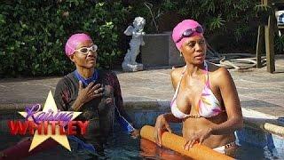 Can Wendell and Omarosa Swim Floatie-Free? | Raising Whitley | Oprah Winfrey Network