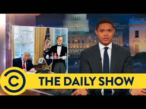 Trump Can t Stop Playing With His Big Red Button The Daily Show Comedy Central
