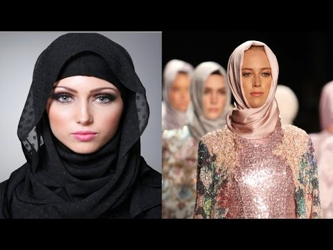 Xxx Mp4 First Muslim Hijab Fashion Show In London Strong Message To Trump 3gp Sex