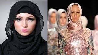 First Muslim hijab fashion show in London strong message to Trump