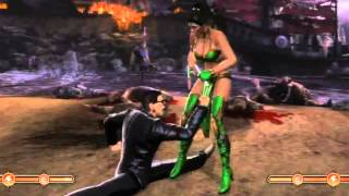Johnny Cage Cunt Punches the Girls