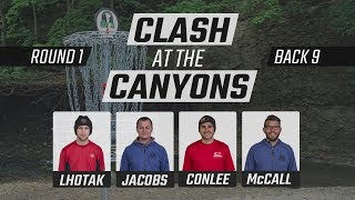 Clash At The Canyons 2018 | Feature Card | Round 1 | Back  9