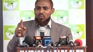 Straight talking Presidential candidate Mohammed Abduba Dida blames Kenyans for choosing unwisely