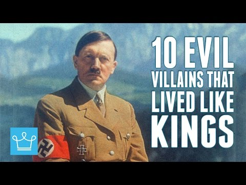 10 Most Evil Villains In History