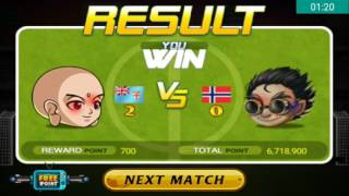 Head Soccer Challenge - Beat Norway without getting Goals