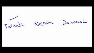 Arabic Grammar: Lesson 1; The Kalimah