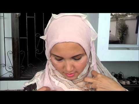 How to wear Egyptian Hijab