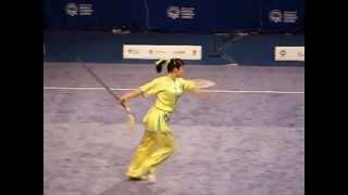 Всемирные игры боевых искусств. Ушу Таолу / Wushu Taolu. Jian Shu. Women. China. Liu Xia