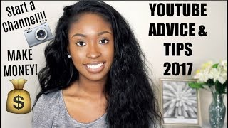 NEW YOUTUBE CHANGES + STARTING A YOUTUBE CHANNEL TIPS & ADVICE 2017