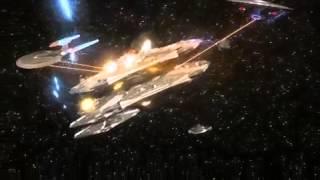 starfleet vs cylon basestars