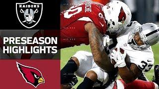 Raiders vs. Cardinals | NFL Preseason Week 1 Game Highlights