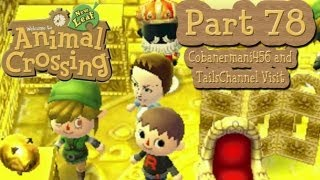Animal Crossing: New Leaf - Part 78:  Cobanermani456 and TailsChannel Visit A-Nation!