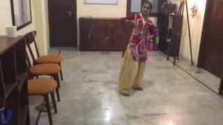 Sapna: Our multi-talented dancer!