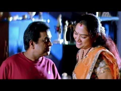 Comedy Kings - Brahmanandam,Hema Comedy In Mithrudu -  Brahmanandam,Hema