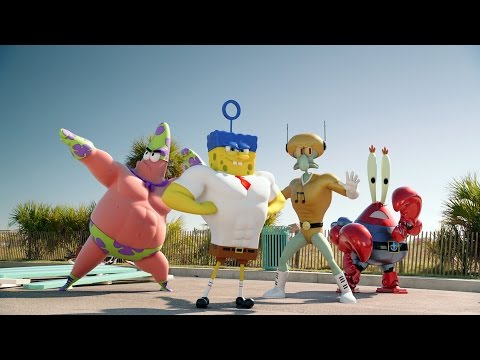 THE SPONGEBOB SQUAREPANTS MOVIE SPONGE OUT OF WATER Official Teaser Trailer UK Paramount