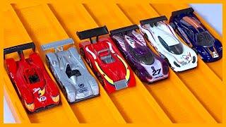 RACE: LEMANS RACE CARS Series 9, Race 5 - Hot Wheels