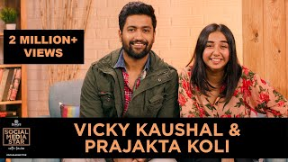 'Social Media Star with Janice' E01: Vicky Kaushal and Prajakta Koli
