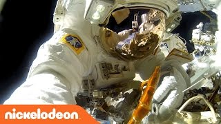 Space vs. Earth w/ REAL LIFE ASTRONAUTS!! | Nick