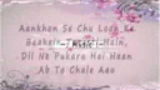 Tera Hone Laga Hoon [FULL SONG] Lyrics Ajab Prem Ki Gajab Kahani [HD]_1.mp4