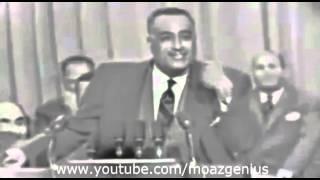 جمال عبد الناصر للغرب احنا نضربكم بالجزمة من اكبر واح لاصغر واحد