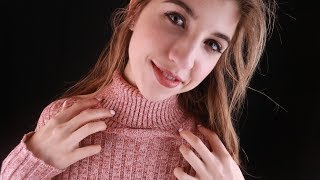 ASMR Collarbone/Sweater Tingles ~