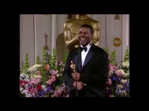 Denzel Washington: 2002 Oscars Press Room