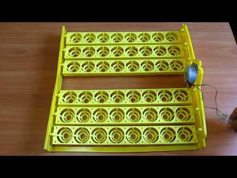Поворотные лотки для инкубатора своими руками