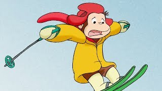 Curious George 🎄Ski Monkey 🎄Christmas Special🎄HD🎄Cartoons For Children