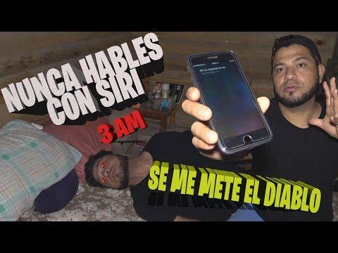 Xxx Mp4 NUNCA LE HABLES A SIRI A LAS 3 AM Se Me METE El DIABLO 3gp Sex