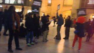 PROTEST NYC Grand Central