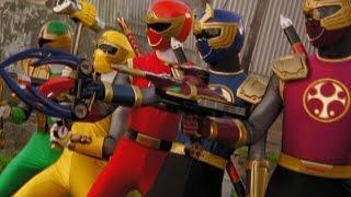 Power Rangers Ninja Storm - Tori vs the Evil Power Rangers (The Wild Wipeout Episode)