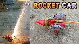 Rocket Ki Car | Rocket and Chakri ek saath