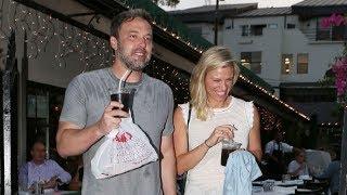 Ben Affleck And Girlfriend Lindsay Shookus Share A Romantic Italian Dinner