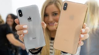 iPhone Xs Max and iPhone Xr!